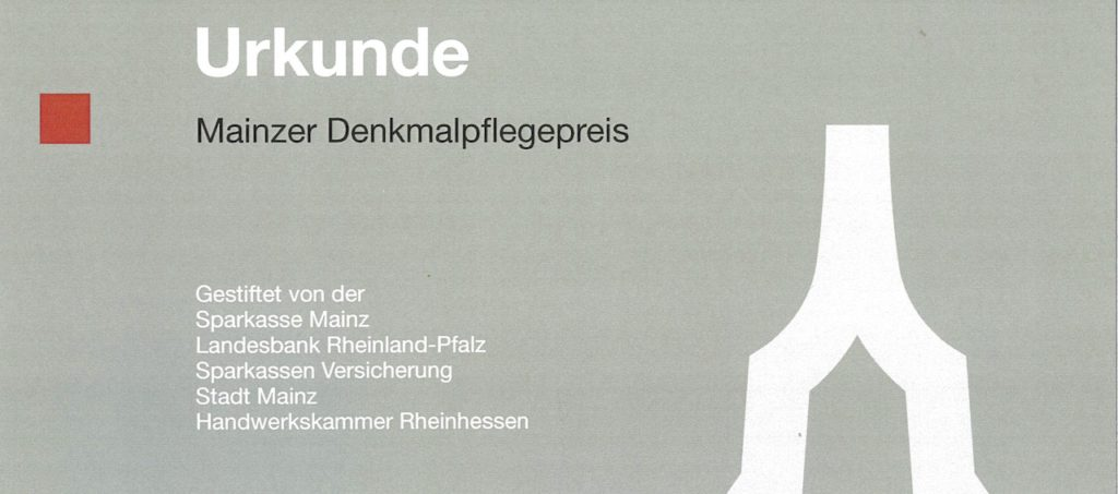 Denkmalpflege-Preis